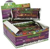 Greens Plus - Protein Bar Yogurt-Coated Wild Berry Burst - 2 oz. by Greens Plus