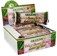 Image of Greens Plus - Energy Bar Yogurt Coated Wild Berry Burst - 2 oz.