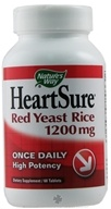Nature's Way - HeartSure Red Yeast Rice High Potency Once Daily 1200 mg. - 60 Tablets, from category: Nutritional Supplements