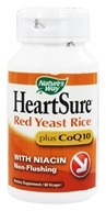 Nature's Way - HeartSure Red Yeast Rice plus CoQ10 - 60 Vegetarian Capsules, from category: Nutritional Supplements