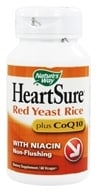 Nature's Way - HeartSure Red Yeast Rice plus CoQ10 - 60 Vegetarian Capsules by Nature's Way