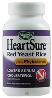 Nature's Way - HeartSure Red Yeast Rice Plus Phytosterols - 60 Tablets, from category: Nutritional Supplements