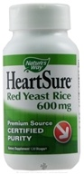 Image of Nature's Way - HeartSure Red Yeast Rice 600 mg. - 120 Vegetarian Capsules