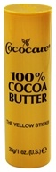 Cococare - 100% Cocoa Butter Yellow Stick - 1 oz.