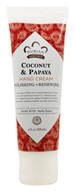 Image of Nubian Heritage - Hand Cream Coconut & Papaya - 4 oz.
