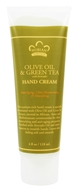 Image of Nubian Heritage - Hand Cream Olive & Green Tea - 4 oz.