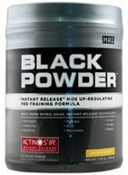 MRI: Medical Research Institute - Black Powder Instant Release Pre Training Formula Orange Burst - 1.76 lbs. CLEARANCE PRICED