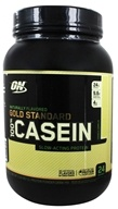 Image of Optimum Nutrition - 100% Casein Gold Standard Natural Protein French Vanilla - 2 lbs.