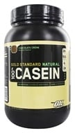 Optimum Nutrition - 100% Casein Gold Standard Natural Protein Chocolate Creme - 2 lbs.
