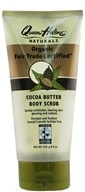 Image of Queen Helene - Organic Fair Trade Certified Body Scrub Cocoa Butter - 6 oz. CLEARANCE PRICED