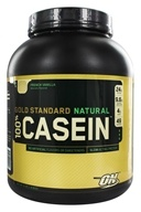 Optimum Nutrition - 100% Casein Gold Standard Natural Protein French Vanilla - 4 lbs.