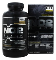 MRI: Medical Research Institute - NO2 Black Nos-Enhanced Hemodilator - 300 Caplets by MRI: Medical Research Institute