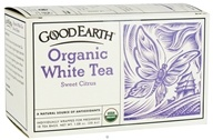 Good Earth Teas - Organic White Tea Sweet Citrus - 18 Tea Bags - $4.07