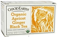 Image of Good Earth Teas - Organic Apricot Ginger Black Tea - 18 Tea Bags