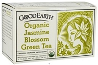 Image of Good Earth Teas - Organic Jasmine Blossom Green Tea - 18 Tea Bags