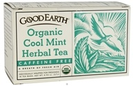 Good Earth Teas - Organic Cool Mint Herbal Tea Caffeine Free - 18 Tea Bags - $4.07