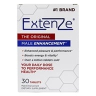 ExtenZe - Maximum Strength Male Enhancement Original Formula - 30 Tablets by ExtenZe