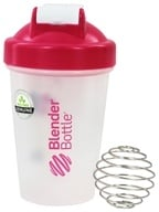 Blender Bottle - Classic Pink - 20 oz. By Sundesa