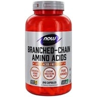 NOW Foods - Branched Chain Amino Acids - 240 Capsules (733739000545)
