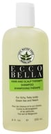 Ecco Bella - Holistic Remedies Hair and Scalp Therapy Shampoo Green Tea and Neem - 8.5 oz. by Ecco Bella