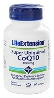Life Extension - CoQ10 Super Ubiquinol 100 mg. - 60 Softgels (737870122661)