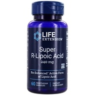 Life Extension - Super R-Lipoic Acid 300 mg. - 60 Vegetarian Capsules by Life Extension