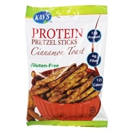 Kay's Naturals - Protein Pretzel Sticks Cinnamon Toast - 1.2 oz. Formerly Better Balance