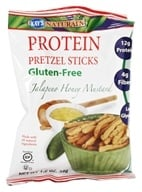 Image of Kay's Naturals - Better Balance Pretzel Sticks Jalapeno Honey Mustard - 1.2 oz.
