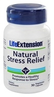 Life Extension - Natural Stress Relief - 30 Vegetarian Capsules - $21