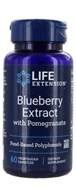 Image of Life Extension - Blueberry Extract with Pomegranate - 60 Vegetarian Capsules