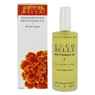 Ecco Bella - Deep Cleansing Gel For All Skin Types - 4 oz. by Ecco Bella