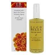 Ecco Bella - Mist on Toner For All Skin Types - 4 oz. (036923001886)