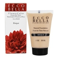 Ecco Bella - FlowerColor Natural Liquid Foundation Bisque 15 SPF - 1 oz. by Ecco Bella