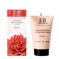 Ecco Bella - FlowerColor Natural Liquid Foundation Natural 15 SPF - 1 oz.