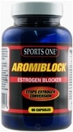 Sports One - Aromiblock Estrogen Blocker - 60 Capsules - $39.99