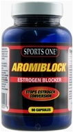 Sports One - Aromiblock Estrogen Blocker - 60 Capsules (759475820018)