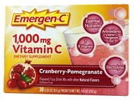 Alacer - Emergen-C Vitamin C Energy Booster Cranberry Pomegranate 1000 mg. - 30 Packet(s), from category: Vitamins & Minerals
