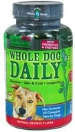 Green Dog Naturals - Whole Dog Daily Natural Chicken Flavor - 60 Chewable Tablets by Green Dog Naturals