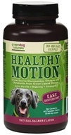 Green Dog Naturals - Healthy Motion 30-60 Day Supply Natural Salmon Flavor - 60 Chewable Tablets