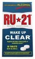 Spirit Sciences - RU-21 Wake Up Clear - 20 Tablets - $4.28