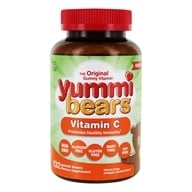 Image of Hero Nutritional Products - Yummi Bears Children's Vitamin C - 132 Gummies