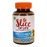 Image of Hero Nutritional Products - Slice of Life Multi+ Adult Gummy Vitamins - 60 Gummies
