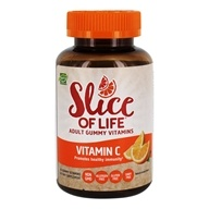 Image of Hero Nutritional Products - Slice of Life Vitamin C+Pomegranate Adult Gummy Vitamins - 60 Gummies