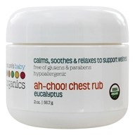 Nature's Baby Organics - Ah-Choo! Chest Rub Eucalyptus - 2 oz. - $7.03