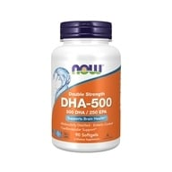 NOW Foods - Highest Potency DHA-500 - 90 Softgels (733739016126)