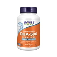 NOW Foods - Highest Potency DHA-500 - 90 Softgels by NOW Foods