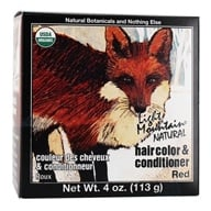 Light Mountain Natural - Hair Color & Conditioner Kit Red - 4 oz. - $4.29