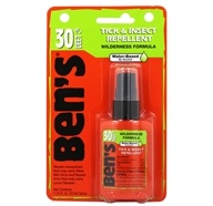 Ben's - 30 Wilderness Formula Deer Tick & Insect Repellent - 1.25 oz. (044224071903)
