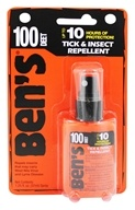 Ben's - 100 Max Formula Tick & Insect Repellent - 1.25 oz., from category: Personal Care