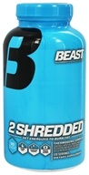 Beast Sports Nutrition - 2 Shredded Strength Thermogenic Complex - 120 Capsules (631312705514)